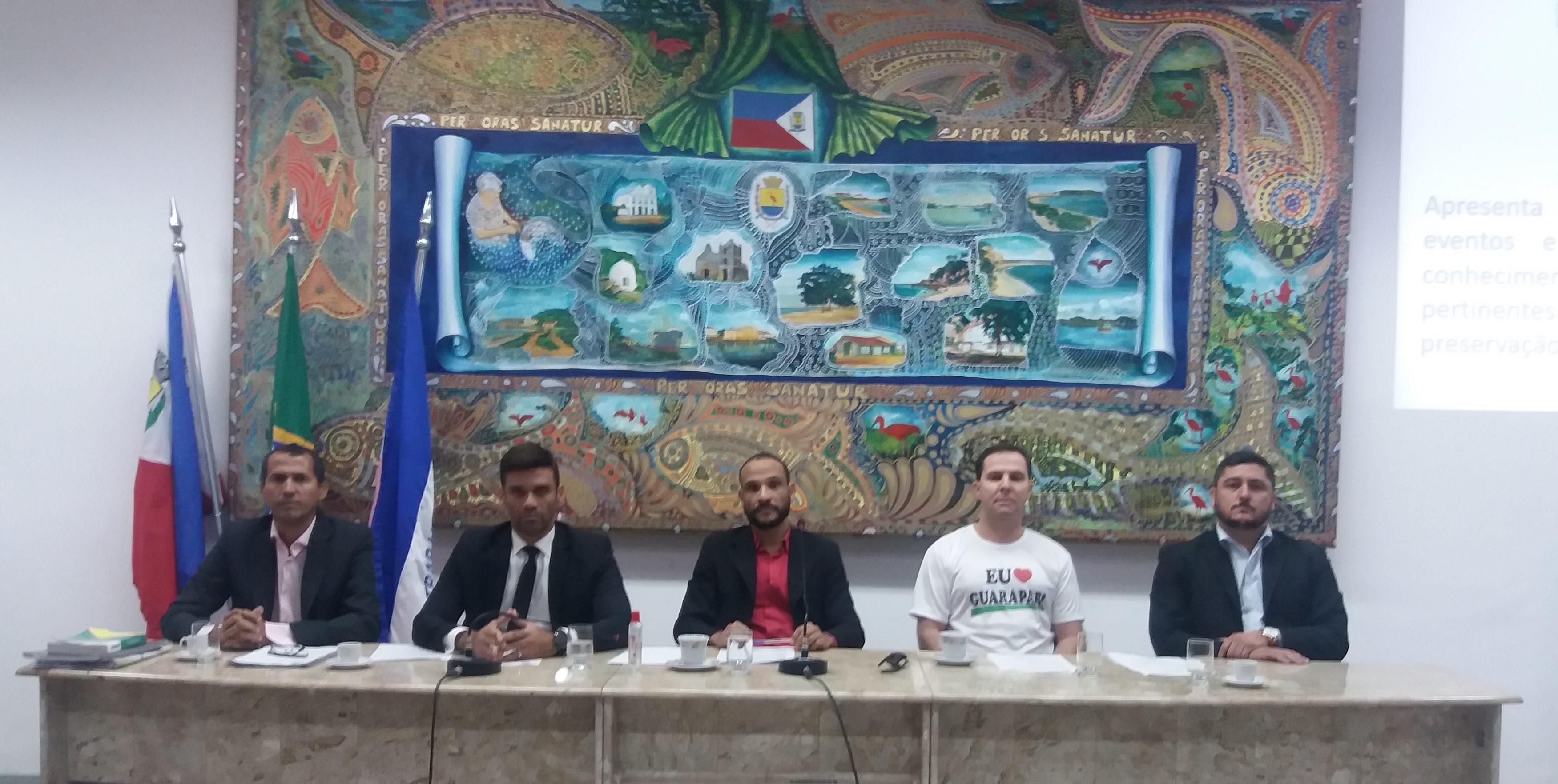 Vereadores abrem CPI para investigar obras de pavimentação em Guarapari