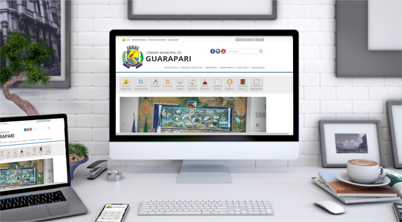 Câmara de Guarapari espera economizar  R$ 450 mil por ano com  ampliação e modernização de seus sistemas eletrônicos