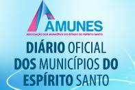 Diário Oficial dos Municípios do Espírito Santo